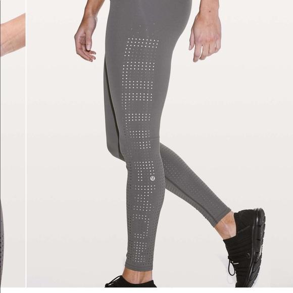 lululemon athletica Pants - New LULULEMON SOUL CYCLE Ride Reflect Logo Tight 6